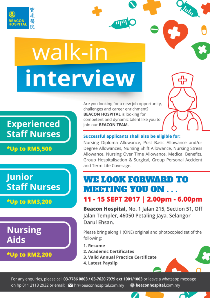 Beacon Hospital Walk in Interview - Beacon Hospital