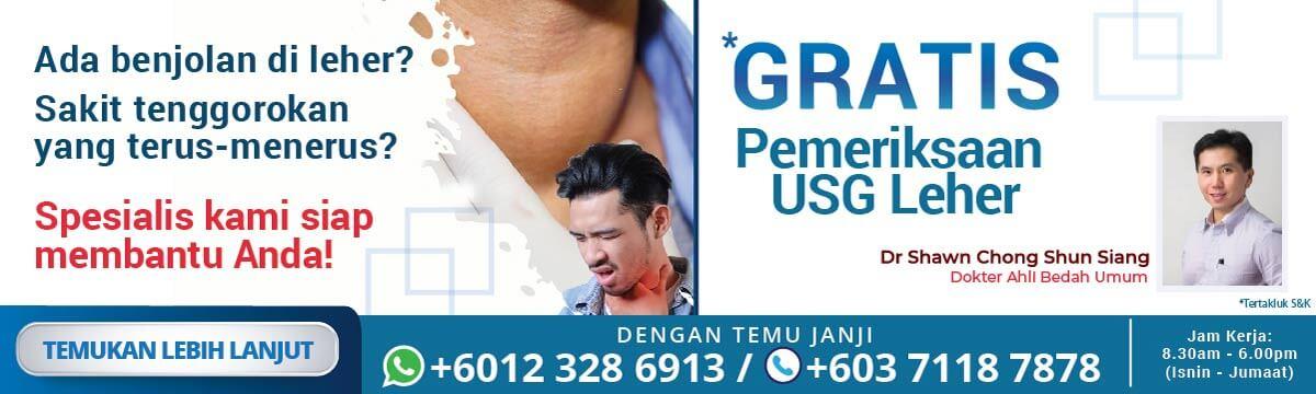 Pemeriksaan USG Leher Gratis